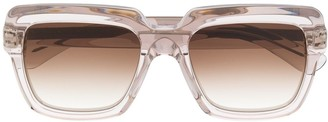 Emmanuelle Khanh Gradient Tinted Square Sunglasses