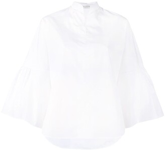 Valentino Bell Sleeve Blouse