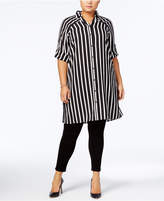Alfani Plus Size Tunic Blouse, Only at Macy's