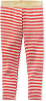 Carter's Metallic Striped Leggings, Little Girls (2-6X)