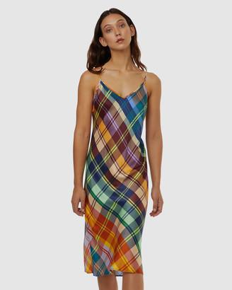 gorman Tartan Slip Dress