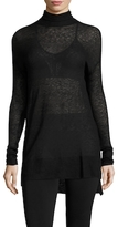 Tracy Reese Solid Mesh Top