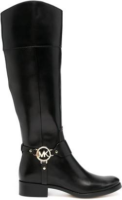 MICHAEL Michael Kors Fulton harness knee-high boots