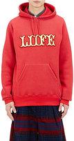 "Sacai Men's ""Liife"" Sweatshirt-RED"