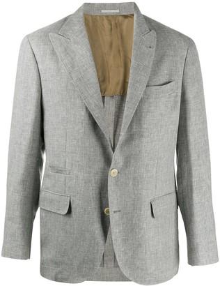 Brunello Cucinelli Tailored Linen Blazer