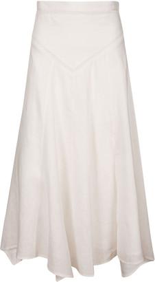 Isabel Marant Back Zip Long Skirt