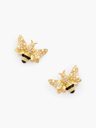 Talbots Bumblebee Earrings