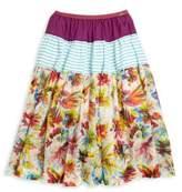 Junior Gaultier Toddler's, Little Girl's & Girl's Floral Long Skirt
