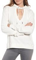 Pam & Gela Women's Cutout Hoodie