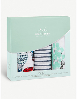 Aden Anais Dream Ride Musy muslin cotton squares set of three