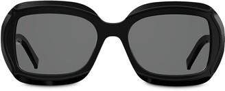 Elie Saab Square Frame Sunglasses