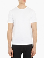 Acne Studios White Cotton Eddy T-shirt