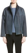 Zero Maria Cornejo Women's Osita Leather Bomber Jacket