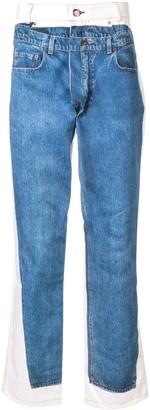 Andrea Crews jeans-print slim-fit jeans