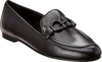 Salvatore Ferragamo Trifoglio Leather Loafer