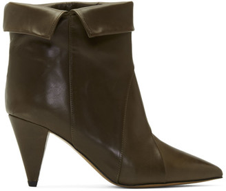 Isabel Marant Khaki Larel Boots
