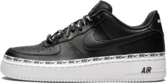 Nike Womens Air Force 1 Low 'Ribbon Pack' Shoes - Size 9.5W