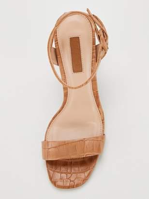 Office Happy Go Heeled Sandals - Caramel