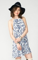 MUMU Katy Halter Dress ~ Vine Land Cloud
