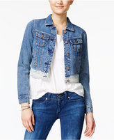 American Rag Dip-Dyed Denim Jacket, Created for Macy's
