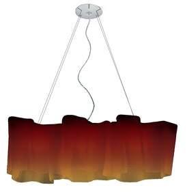 Artemide Logico 3 - Light Kitchen Island Linear Pendant Size: Classic, Shade Color: Tobacco, Bulb Type: E26/A19