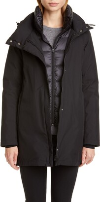 Herno Gore-Tex(R) Coat with Removable Down Bib