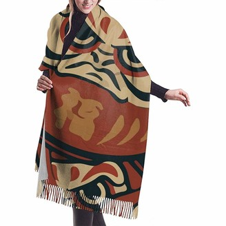 Yinyinyin.Womens Scarf Learn Japanese Wishes Womens Scarf Large Soft Silky Pashmina Cashmere Shawl Wrap 68 X 196 Cm