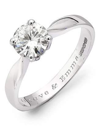 Marisota Moissanite Personalised 1 Carat Ring