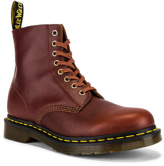 Dr. Martens 1460 Pascal Boots in Brown | FWRD