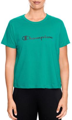 Champion Chmpd Sport Crop Tee
