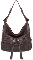 Kooba Lawrence Hobo In Dark Berry