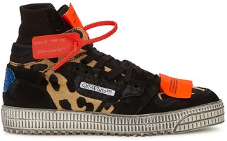 Off-White Off-Court 3.0 Black Suede Hi-top Sneakers