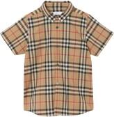 Burberry Fredrick Plaid Woven Shirt