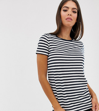 Asos Tall ASOS DESIGN Tall ultimate t-shirt with crew neck in stripe