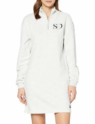 Superdry Women's Quarter Zip Sweat Dress