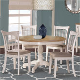 Hillsdale House Bayberry 5-pc. Round Dining Table Set