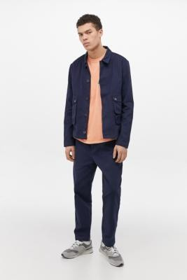 NATIVE YOUTH Patton Navy Trousers - Blue XL at Urban Outfitters