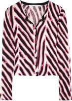 Ibiza cotton and silk-blend cardigan