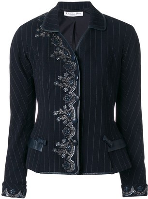 Christian Dior Pre-Owned Embroidered Jacket