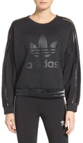 adidas Women's Shadow Stripe Sweatshirt