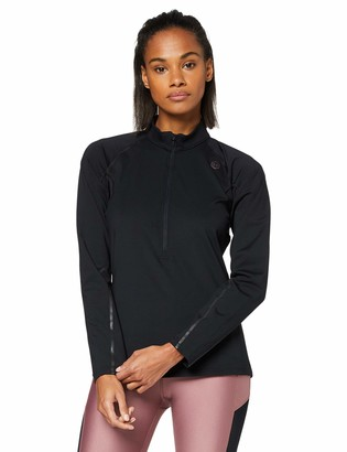 Under Armour Women's UA Rush ColdGear Run Zip Jersey Long Sleeves