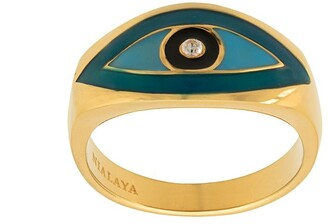 Nialaya Jewelry Skyfall Evil Eye ring