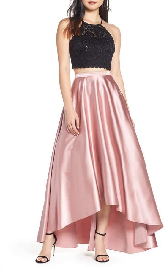 ca61ada4227 Two Piece Evening Dress - ShopStyle