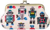 Cath Kidston Large Robots Clasp Purse