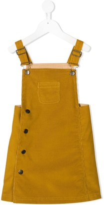Marie Chantal Dungaree Courduroy Dress