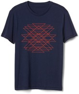 Gap Geometric line graphic crewneck tee