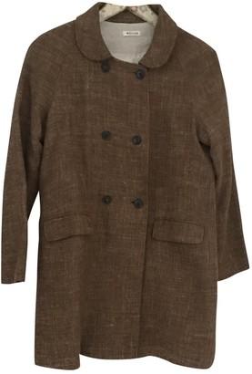 Masscob Camel Wool Coat for Women