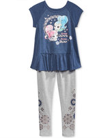 Nickelodeon Nickelodeon's Shimmer and Shine T-Shirt and Leggings Set, Toddler and Little Girls (2T-6X)