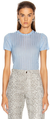 Georgia Alice Lola Crop Top in Blue | FWRD