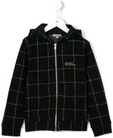 Emile et Ida checked hoodie - kids - Cotton/Wool - 2 yrs